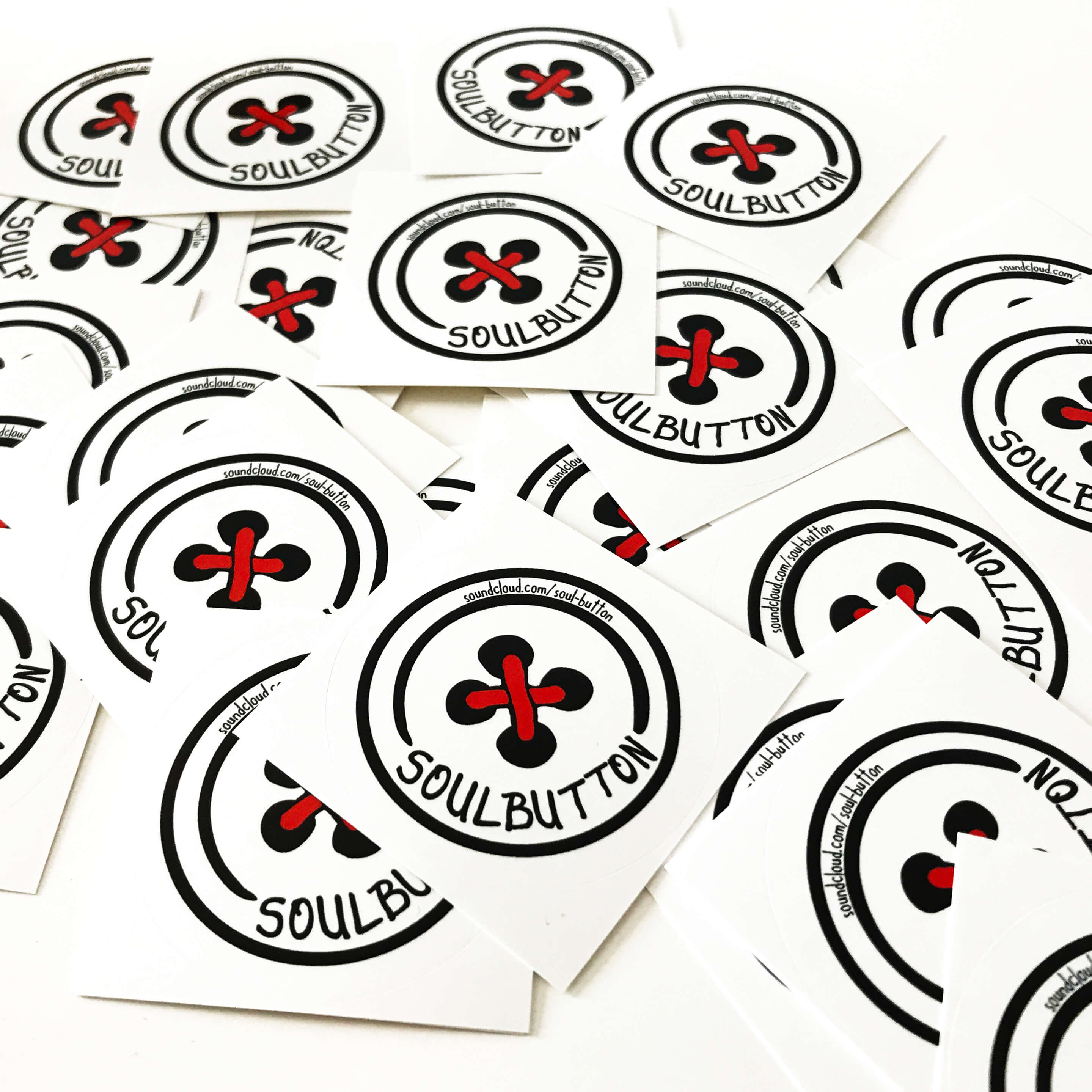 soul button stickers