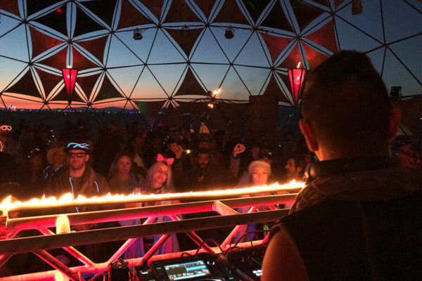 Soul Button PlayaSkool Burning Man 2018 Incendia Dome